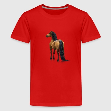 Welsh - Teenage Premium T-Shirt