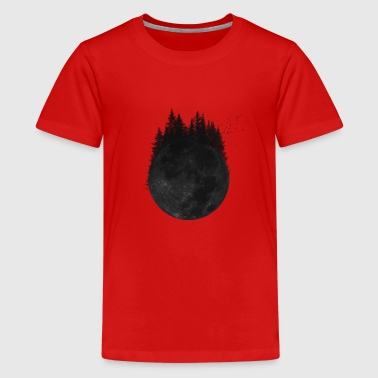 Wald Mond - Teenager Premium T-Shirt