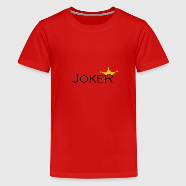 Joker Vers 1 - Teenager Premium T-Shirt