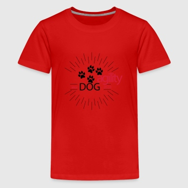 Hundesport - Teenager Premium T-Shirt