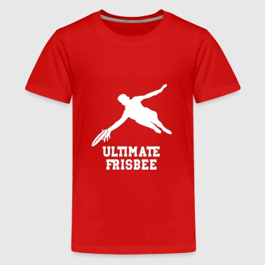 ULTIMATE FRISBEE - Teenager premium T-shirt