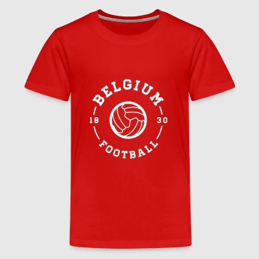 belgium football club  - Teenager Premium T-shirt