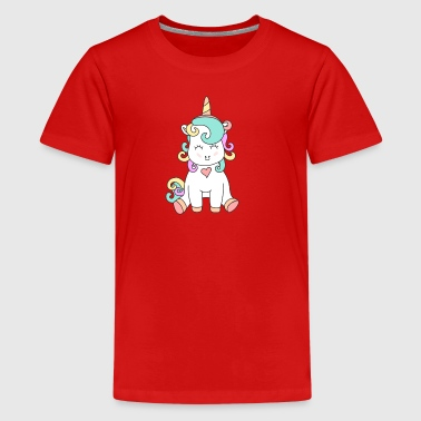 The unicorn baby. It could not be sweeter. - Teenage Premium T-Shirt