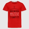 wear something positives coole liebe statement - Teenager Premium T-Shirt