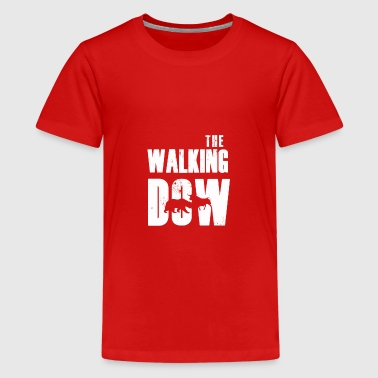 Los fanáticos del mercado de valores The Walking Dax Dow Wallstreet - Camiseta premium adolescente