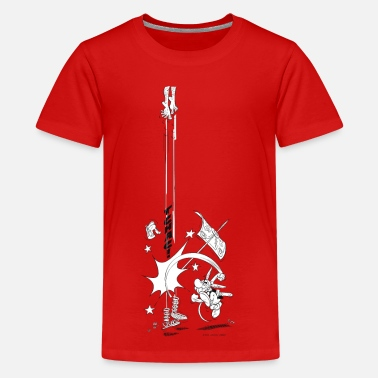 Magic &amp Asterix & Obelix Tchac! Teenager T-Shirt - Teenage Premium T-Shirt