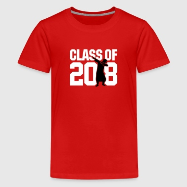 Class of 2018 dab dabbing graduate school - Teenage Premium T-Shirt