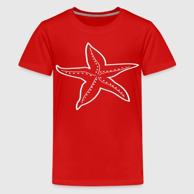 Seestern - Teenager Premium T-Shirt