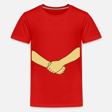 Kæreste free hug (2colors) - Premium T-shirt teenager