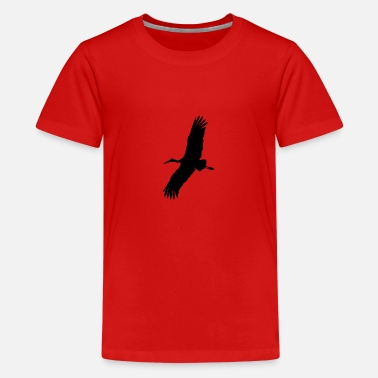 Stork stork - Teenage Premium T-Shirt