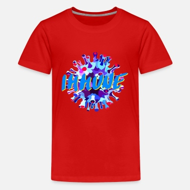 corona immune 7 - Teenage Premium T-Shirt