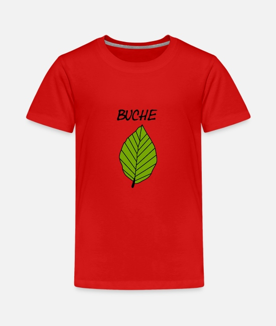 Bücher T-Shirts - Buche - Teenager Premium T-Shirt Rot