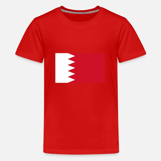 Country T-shirts - bahrain - Premium T-shirt teenager rød
