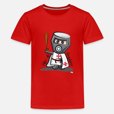 Son Templar (Casco) - Teenager Premium T-Shirt