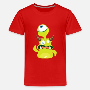 Monstaa Originaals Monster # 22 - Teenage Premium T-Shirt