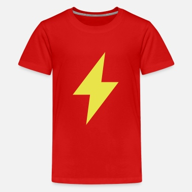 Blitz Symbole Blitz Symbol - Thunder - Flash - Teenager Premium T-Shirt