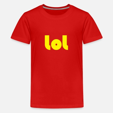 lol - Teenage Premium T-Shirt