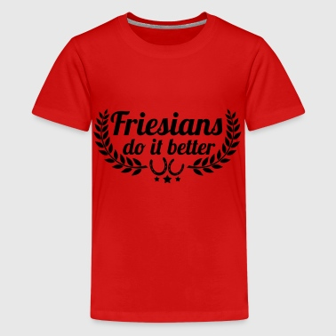 Frisere - Friesen - Teenager premium T-shirt