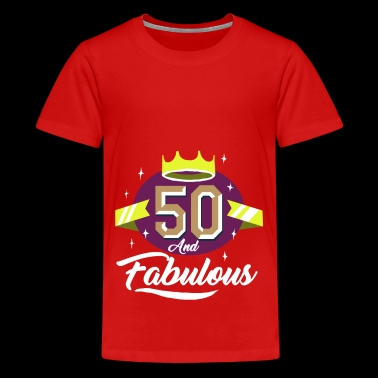 50th birthday gift - Teenage Premium T-Shirt