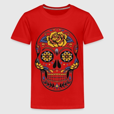 Totenkopf - Abstract 2 - Teenager Premium T-Shirt