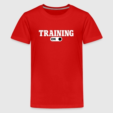 Training on - T-shirt Premium Ado