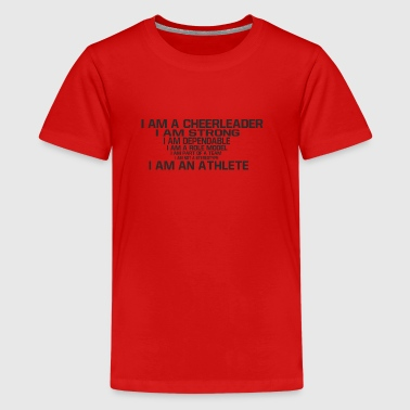 I am a Cheerleader - Teenage Premium T-Shirt
