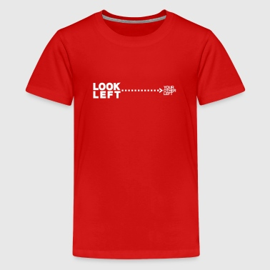 Look left - Teenage Premium T-Shirt