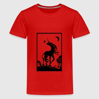 Dreamy unicorn - Teenage Premium T-Shirt