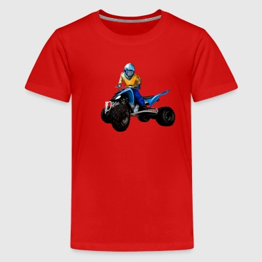 quad - Teenage Premium T-Shirt