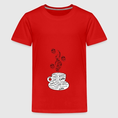 kaffe - Teenager premium T-shirt