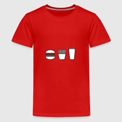 fastfood - Teenager premium T-shirt
