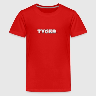 The Tygers of Wrath ... - Teenage Premium T-Shirt