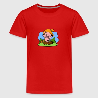 Piggy Tiny Art Collection - Camiseta premium adolescente