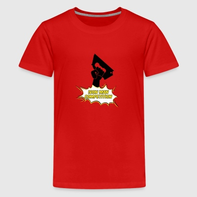 Iron Man Competition - Iron Man concurrentie - Teenager Premium T-shirt