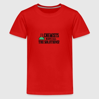 chemistry - Teenage Premium T-Shirt
