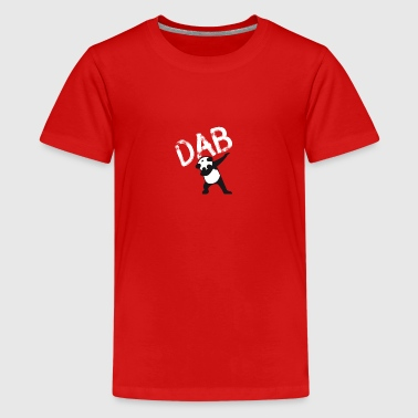 Dab Panda dabbing hiphop Football Dance LOL touchd - Teenage Premium T-Shirt