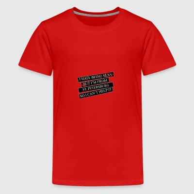Motive for cities and countries - ST. PETERSBURG - Teenage Premium T-Shirt
