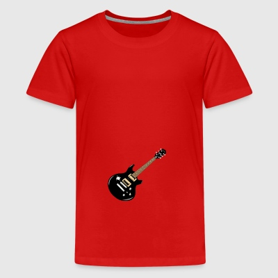 guitar - Teenage Premium T-Shirt