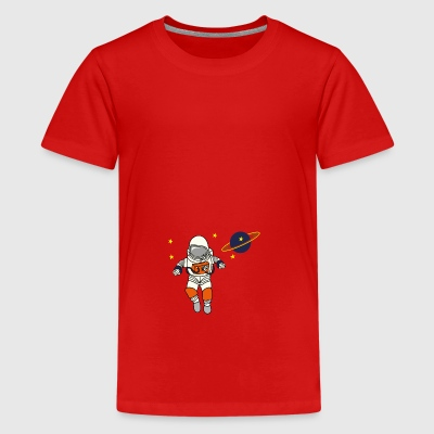 2541614 135413258 Astronaut - Teenager premium T-shirt
