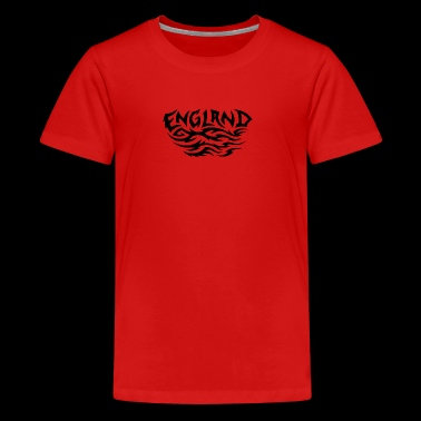 England - Teenage Premium T-Shirt