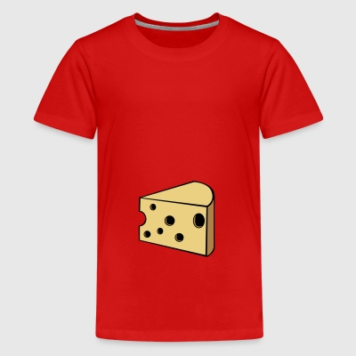 cheese - Teenage Premium T-Shirt