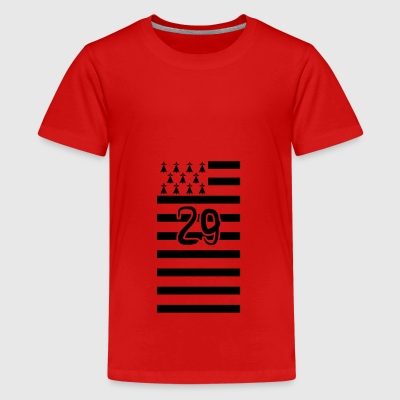 Breton flag 29 - Teenager Premium T-shirt