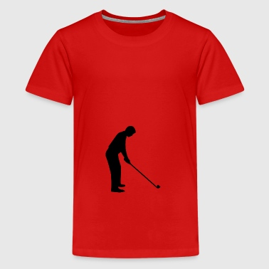 golfers - Teenager Premium T-shirt