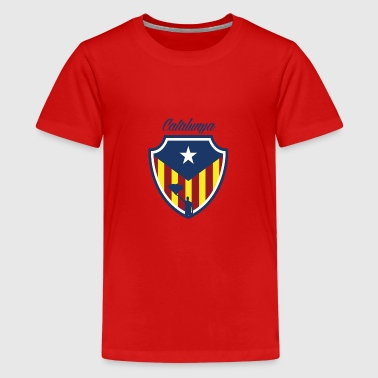 catalunya - Teenage Premium T-Shirt