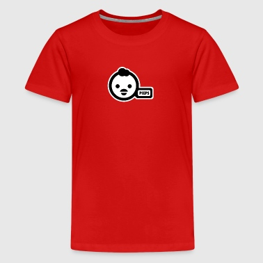 potty-duck - Teenage Premium T-Shirt