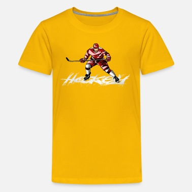 Hockey hockey - Teenager premium T-shirt