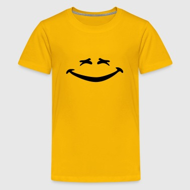 Lachen Smiley lachen - Teenager Premium T-shirt