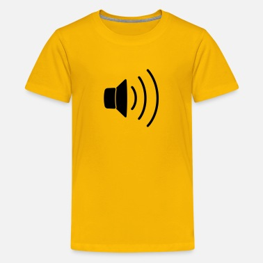 Ich Liebe Techno speaker right - Teenage Premium T-Shirt