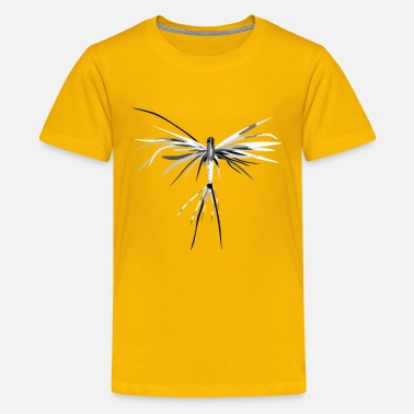 Fly Insect insect - graffiti style - Teenage Premium T-Shirt