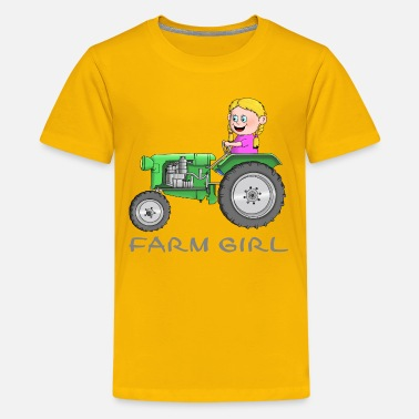 Farm Farm Mädchen - farm girl - Teenager Premium T-Shirt